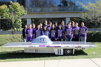 ASC 2016 Northwestern Team Photo